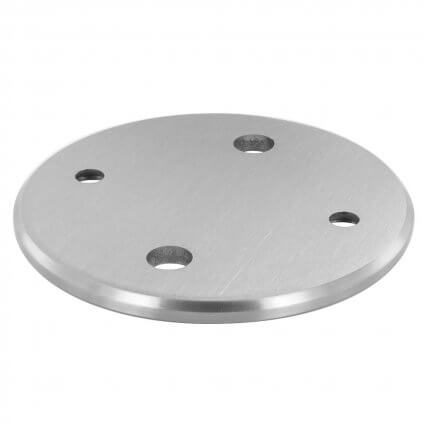 PLATINE RONDE 120 MM D'ANCRAGE LATERAL